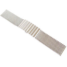 22mm Staib Mesh 150mm Matte Stainless Steel German-Made Mens Watch Band Bracelet