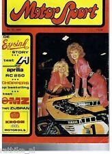 MS7812A-YAMAHA GP RACER COVER PIN-UP LADIES,APRILIA RC 250,MZ 250/1,DUCATI 900