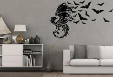 Drache, Fledermaus, Halloween, Wandtattoo, Wallsticker, Fantasy, Gothic Nr.73