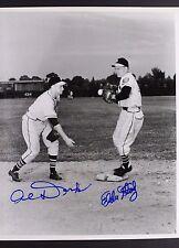 Alvin Dark (d.2014) and Eddie Stanky (d.1999) Braves Autographed 8x10 Photo 17F