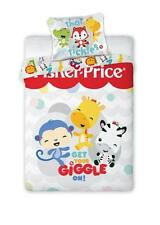 Fisher-Price Get Your Giggle On! Baby Toddler Bedding Set 100% COTTON Cot Cotbed