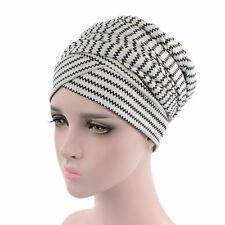 Women Floral Turban Hat African Wrap Hair Head Scarf Muslilm Hijab Long Tail Cap