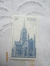 IRELAND 1985 MINT N H  S G 550b £1 BLUE ARCHITECTURE                 18/004
