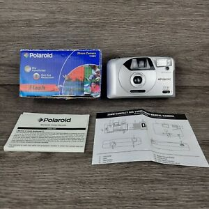 Polaroid 170BV 35mm Film Camera Point & Shoot with instructions/Wrist strap