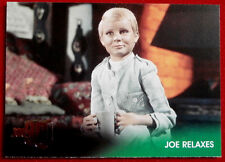 JOE 90 - Foil Chase Card #F5 - JOE RELAXES - GERRY ANDERSON COLLECTION