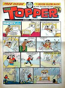 TOPPER - 6th NOVEMBER 1971 (4 - 10 Nov) SUPERB 50th BIRTHDAY GIFT !! beano dandy