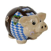 """Sparschwein klein """"Oktoberfest"""" Sparbüchse Sparschwein Sparen Dose Geld Geschenk"""