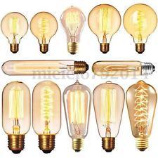 Ampoule Filament Carbone 4/40/60W E27/B22/E14 Incandescente Vintage Edison Rétro