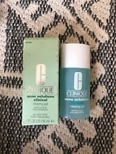Clinique Acne Solution Clinical Clearing Gel 1oz 30ml New In Box Full Size