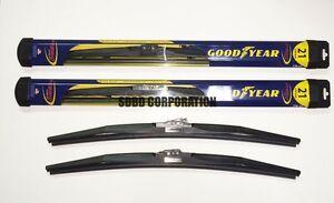 1995-1998 Saab 900 Goodyear Hybrid Style Wiper Blade Set of 2