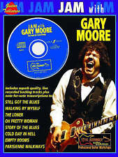 Jam with Gary Moore: (Guitar Tab) by Faber Music Ltd  PLUS GUITAR CD    NEW BOOK