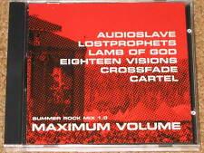 CHRIS CORNELL, Audioslave, CROSSFADE, Lamb Of God, LOSTPROPHETS - PROMO CD! NEW!
