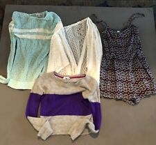 Abercrombie Hollister Sweater and Jumper  Lot 4 Pieces Girls XL -women's XS