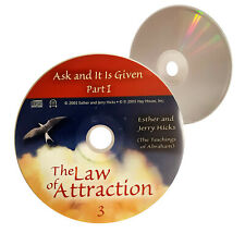(Nearly New) Disc 3 ONLY Ask and It Is Given Law of Attraction CD- XclusiveDealz