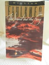 The Sound and the Fury by William Faulkner ( Paperback) Free Shipping