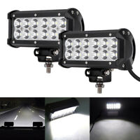 """6.5"""" 36W Spot Beam Led Work Lights For Land Rover Defender Offroad Truck 4x4"""