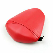 Passenger Rear Seat Leather Pillon For Yamaha YZF R1 2009-2010 Red/A5