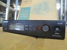 Shure SLX4 R5 Wireless Microphone Receiver 800-820 MHZ + Antenna - NO PSU