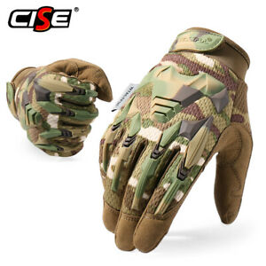 Tactical Full Finger Gloves Army Military Combat Hunting Shooting Motorcycle Men