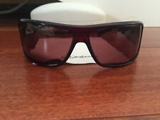 Yves Saint Laurent Designer Red Crystal Burgundy Frame Sunglasses With Case RARE