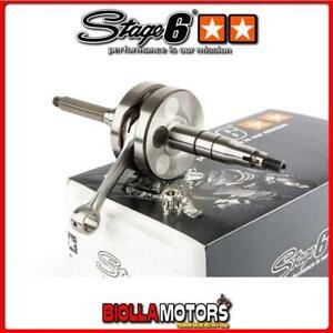 S6-8116600 Albero Motore Stage6 Pro Replica spinotto 10mm Minarelli orizzontale