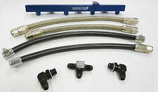 OBX Racing Blue Fuel Injection Rail Fits 1994 To 1997 Mazda Miata 1.8L Only