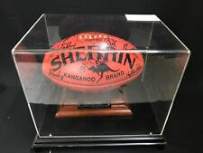 1997 OFFICIAL LIMITED EDN SHERRIN FOOTBALL SIGNED CROWS AFL PLAYERS PREMIERSHIP