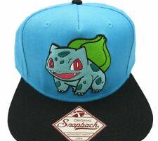 1d8296e63b6 Pokemon Bulbasaur Nintendo Retro Vintage Style Snapback Hat