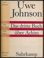 Johnson: Das dritte Buch über Achim (1961). Autograph, Widmungsex., Erstausgabe.