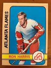 1972/73 Topps Hockey Card #138 Ron Harris Atlanta Flames NM