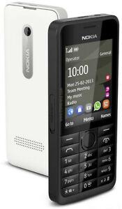 Nokia 301 Single SIM Black 3G Mobile phone big keyboard free shipping