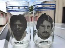 Pair of Vintage Burger King Dr Pepper Dallas Cowboys Collector's Glasses