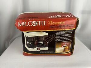 MR. COFFEE model JR44 BREWMATES TWIN 4 CUP AUTOMATIC COFFEE BREWING SYSTEM