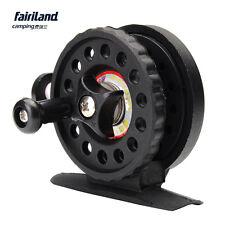 2BB 50mm Ice Fishing Reel Gear Ratio 1:1 Enhanced Nylon 43g/1.5oz Black