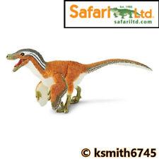 Safari piumato VELOCIRAPTOR solido in plastica giocattolo JURASSIC Dinosaur RAPTOR NUOVO 💥