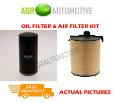 PETROL SERVICE KIT OIL AIR FILTER FOR VOLKSWAGEN CADDY MAXI 1.6 102 BHP 2011-