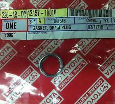 Genuine Toyota Gasket For Rear Axle Housing Drain Plug 12157-10010