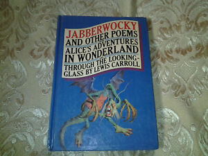 Jabberwocky and Other Poems by Lewis Carroll Vintage Hardcover 1981