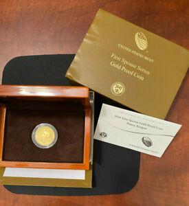 2016-W NANCY REAGAN FIRST SPOUSE $10 GOLD PROOF