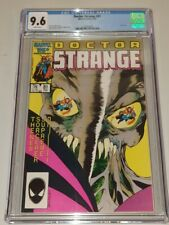 DOCTOR STRANGE #81 CGC 9.6 WHITE PAGES DR MARVEL FEBRUARY 1987 LAST ISSUE (SA)