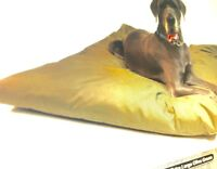 Waterproof Dog Bed Cushion with Heavy Duty Tough Removable high  Grade Cover xxl