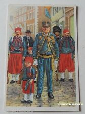 Image CHROMO COTE D'OR Collection FOLKLORE BELGE N°43 - FOSSE - Marche