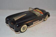 Asahiloy Tinplate Black car Tin Litho 4630 Japan Friction rare to find