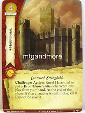 A game of thrones 2.0 LCG - #050 Harrenhal-for family honor