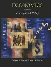 Economics : Principles and Policy by Alan S. Blinder and William J. Baumol (2011