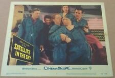SATELLITE IN THE SKY MOVIE POSTER LOBBY CARD #2 1956 ORIGINAL 11x14