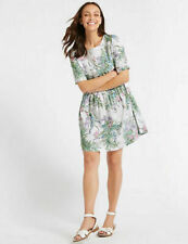 Marks and Spencer Floral Fit & Flare Dresses for Women