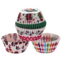 100 Pieces Tasse de gateau en papier petite Tasse de gateau Muffin pour la S3H2