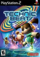 Technic Beat PS2 Game Used