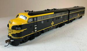 Athearn Genesis HO EMD F3 A+B Erie Railroad Erie #710C/#710D ATHG2720 ME-100